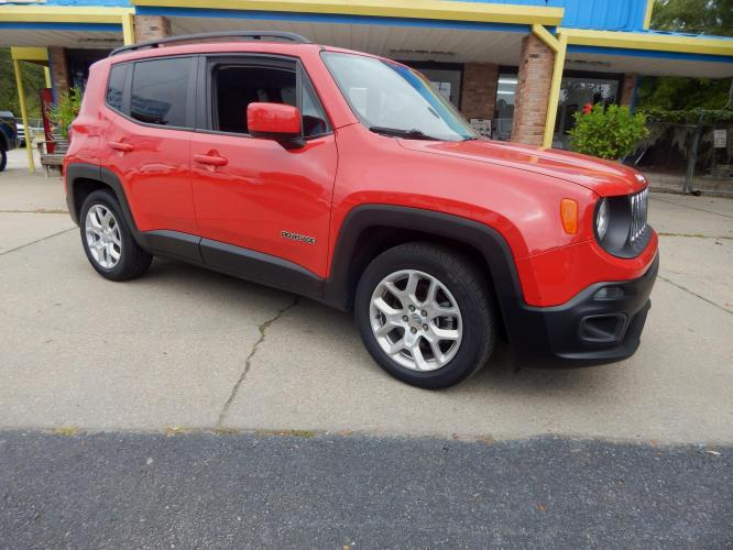 2016 Red /Black Jeep Renegade Latitude FWD (ZACCJABT2GP) with an 2.4L L4 DOHC 16V engine, Automatic transmission, located at 3120 W Tennessee St, Tallahassee, FL, 32304-1002, (850) 575-6702, 30.458841, -84.349648 - Photo #0